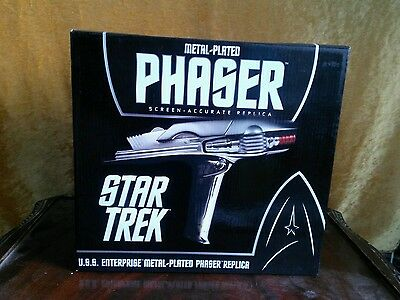 Star Trek Movie Screen Accurate Replica Stunt Phaser prop, Metal Plated
