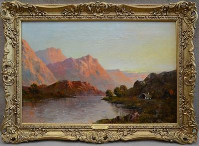 'In the Trossachs, Loch Etive' , British artist, Francis E. Jamieson. Signed