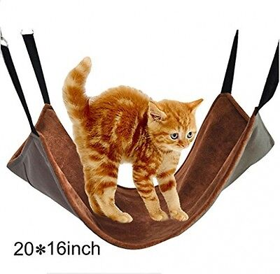 DAN SPEED Soft Cat Hammock For Hanging On Chairs, Soft Pet Bed For Kitten, Or