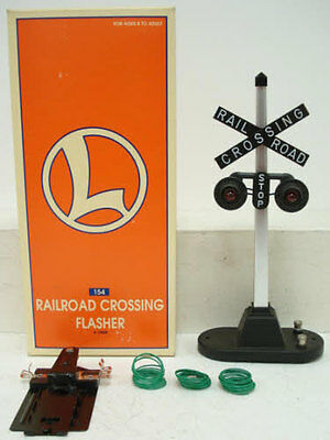Lionel 6-12888 #154 RR Crossing Highway Flasher Signal