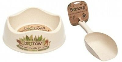 Becothings Becobowl/ Becoscoop Food Eco-Friendly Biodegradable Bowl With Scoop