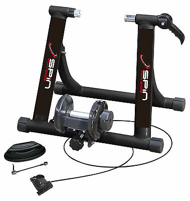 Spin Physics Magnetic Turbo Trainer 7 resistance levels riser block + skewer !