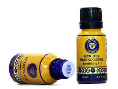 Frankincense and Myrrh Biblical Blessed Anointing Oil 0.5 fl.oz. from Holy Land