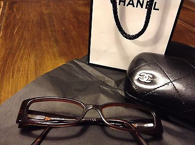 Chanel Glasses Spectacles Frames and Case