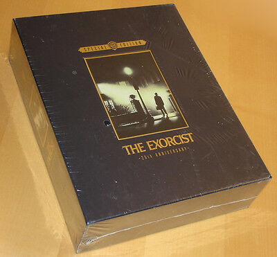 William Friedkin THE EXORCIST 25th Anniversary Widescreen Edition Box New Sealed
