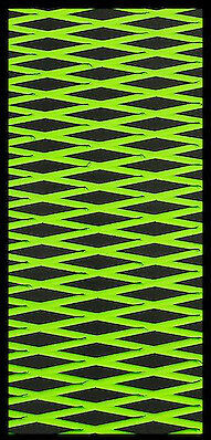 Kawasaki 650SX Hydroturf Mat Kit hydro turf mats Black on Lime Green cut Diamond