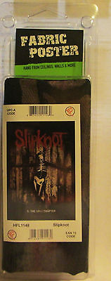 Slipknot Under Texile Poster Flag  Rare New Never Opened Grey Chapter