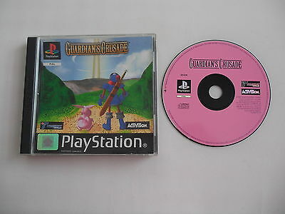 Guardian's Crusade (PAL) PSX PS1 Playstation 1 2 3 Sony Complete OVP CIB