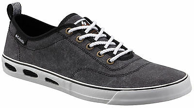 """New Mens Columbia """"Vulc N Vent"""" Lace Canvas Non-Marking Vented Water Boat Shoes"""