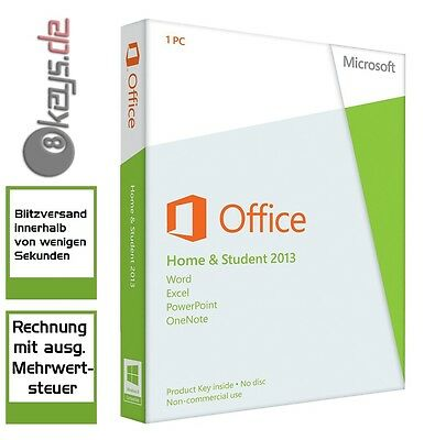 Office 2013 Home Student Vollversion