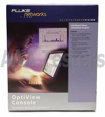 Fluke Networks Optiview Console Network Analysis Software Version 7.0