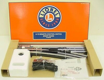 Lionel 6-65165 O Gauge O72 Right-Hand Remote Control Switch