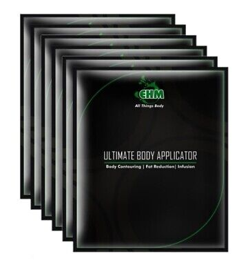 6 Body Wraps Ultimate Applicators it works to Tone Tighten Natural Weight Loss