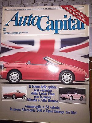 Autocapital 12 1989 Mercedes 300 E/Ce/Alfa Spider/Mazda Mx-5/Ford Mustang Shelby