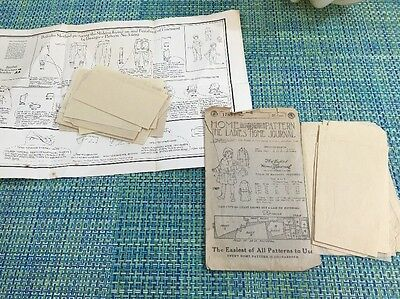 ANTIQUE 1919 BELROBE METHOD SEWING PATTERN 3466 $ Ladies Home Journal 1789 Child