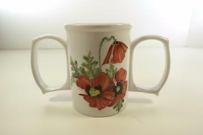 Hand Painted Granny Jo Double Handled Dignity Assist Mug Cup Handicap Stroke