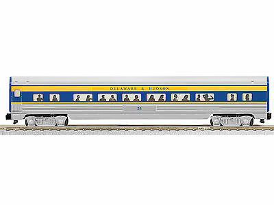 AF 6-47900 S Delaware & Hudson Fluted-Side Coach 2-Pack Ready to Run - #21, 24