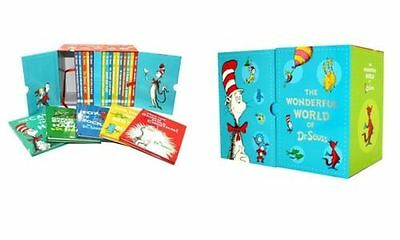 The Wonderful World of Dr Seuss Collection Classic 20 Books Box Set Kids Story