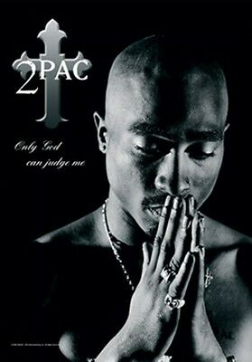 "2Pac Only God Knows Why Fabric Poster 30"" X 40"" !"