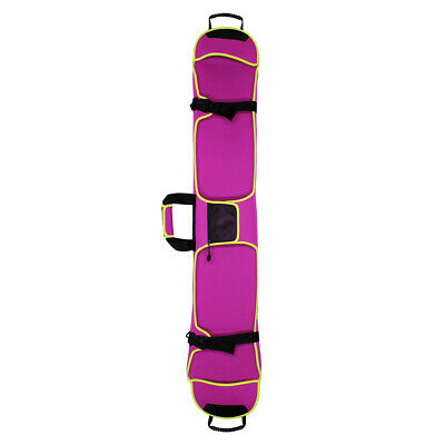 New Deluxe Single Plate Skis Bag Skis Travel Protection 155cm