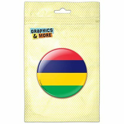 Mauritius National Country Flag Kitchen Refrigerator Locker Button Magnet