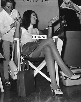 Joan Collins on Movie Set 'The Executioner' at the Hilton Hotel in Athens Photo