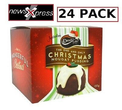 Darrell Lea Chocolate Nougat Puddings 24PACK