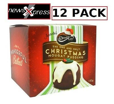 Darrell Lea Chocolate Nougat Puddings 12PACK