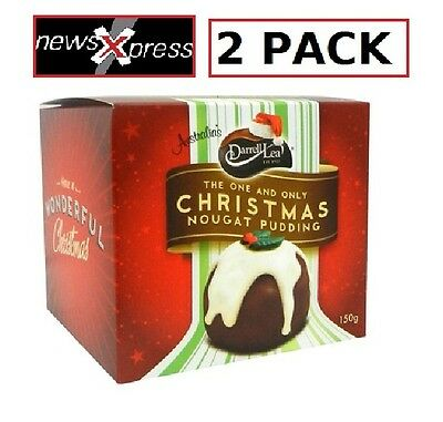 Darrell Lea Chocolate Nougat Puddings 2PACK
