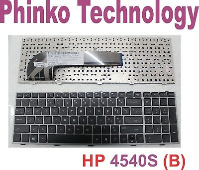 Keyboard for HP PROBOOK 4545S 4540S 701485-001 Black US with Frame type B