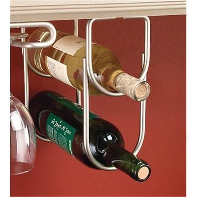 Rev-A-Shelf RS3250SN Double Wine Bottle Rack with Satin Nickel