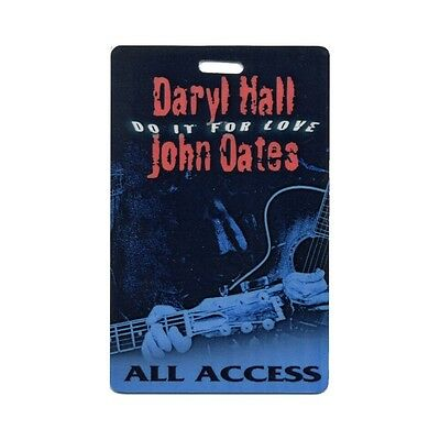 Hall & Oates ALL ACCESS 2003 Laminated Backstage Pass