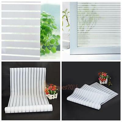 Waterproof Frosted Privacy Home Bathroom Window Self Adhesive Glass Film Sticker