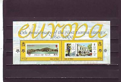 ISLE OF MAN - SGMS1301 MNH 2006 50th ANNIV 1st EUROPA STAMPS