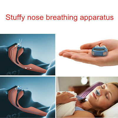 Health Care Slient Sleeping Aid Breathing Nose Clip Stop Grinding Snoring Useful