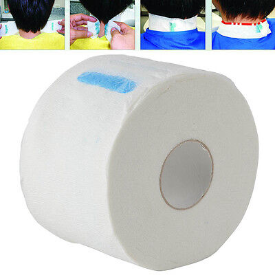 100pcs/Roll Stretchy Disposable Neck Paper Strips for Barber Salon Hairdressing