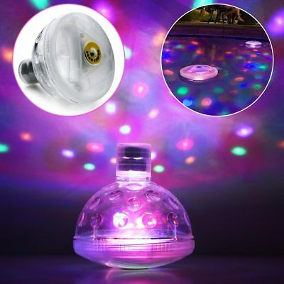 4 LED Underwater Glow Light Swimming Pool party Show Waterproof Floating Bulb
