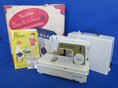 Vintage Singer Childs Sewing Machine The Little Touch and Sew Model 67A23