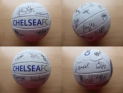 2015-16 Chelsea Ladies Official Football Signed by Squad (9278)