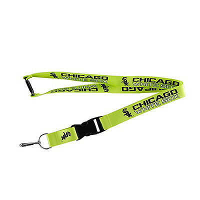 Chicago White Sox Lanyard, Green Neon