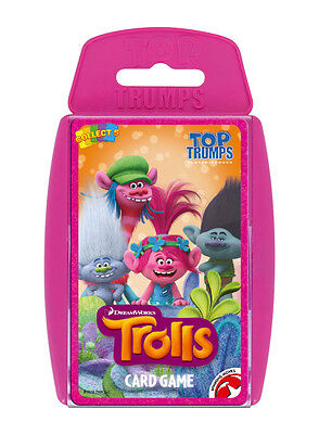 Top Trumps Dreamworks Trolls Card Game Brand New