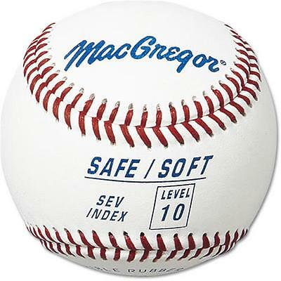 MacGregor MCB5SV10 Safe/Soft Baseball Level 10 Ages 12-UP