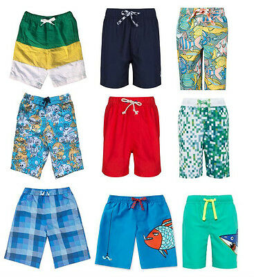 Boys Swim Shorts Different Sizes And Prints From 18 Months to 14 Years