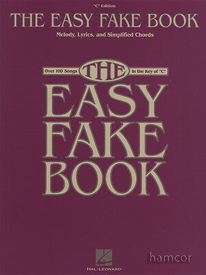 The Easy Fakebook C Edition Melody Lyrics Chords Music Book OVER 100 SONGS