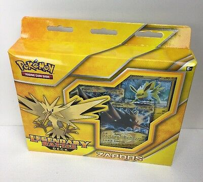 Pokemon Legendary Battle Decks - Zapdos - Collectors Box