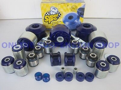 Suits Ford Territory SY SZ 05-15 AWD SUPER PRO Rear Suspension Bush Kit SUPERPRO