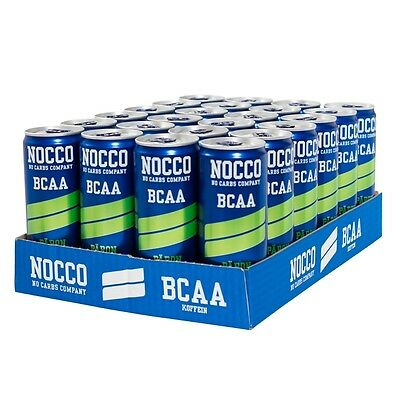NOCCO BCAA Drink 24 x 330ml Cans