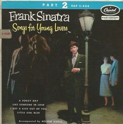 Frank Sinatra - Songs For Young Lovers (Part Two) (Vinyl-Single 1954) !!!