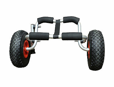 (Closeout) ABN Canoe Paddleboard Floating Mat Kayak Boat Carrier Canoe Trolley