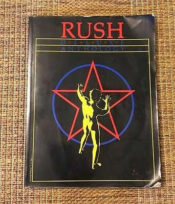 Book Rush Deluxe Anthology Song Book Sheet Music  1981